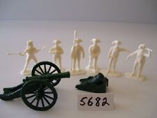 Armies In Plastic 5682 - American Rev. Artillery - French 6 Pounder & Mortar