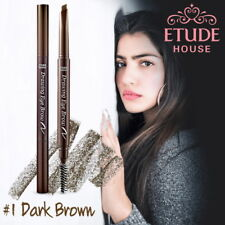 [ETUDE HOUSE KOREA] DRAWING EYE BROW BRUSH & PENCIL *NEW 0.25g -DARK BROWN COLOR