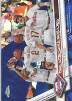 PHILADELPHIA PHILLIES 2017 TOPPS CHROME SAPPHIRE EDITION #174 ONLY 250 MADE