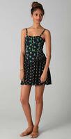 Sweetheart neckline Rebecca Taylor Floral Ditsy Bustier Smocked Dress UK 12