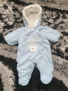 Baby Boy Matalan Snowsuit Newborn