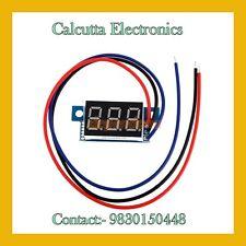 DC 0-200V Portable Digital Voltmeter Red LED Display Digital Panel Meter