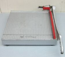 """VTG Solid Steel PHOTO MATERIALS CO. PREMIER 16"""" PAPER TRIMMER/CUTTER Heavy Duty"""