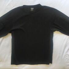 G24 Kathmandu Altica Mens Black Size M Medium 100% Polyester L/S Jumper
