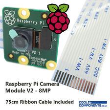 Raspberry Pi Cámara Board v2 8MP con cable plano extra largo. vídeo 1080p Reino Unido