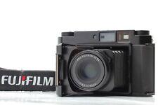 【NEAR MINT】 Fuji Fujifilm GF670 Professional Black Film Camera From JAPAN #498