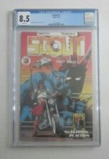 Scout #1 CGC 8.5 White Pages Eclipse Comics 9/1985