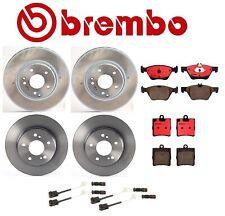 For Dodge Sprinter 2500 Full Brake Kit Front and Rear Rotors Ceramic Pads Brembo