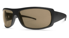 Electric Eyewear Matte Black/ Amber Charge XL Rectangle Sunglasses 1619
