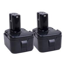 2PCS 2000mAh 12VOLT Ni-CD Battery for  HITACHI EB 1212S EB1214S WR12DMR EB1220BL