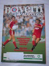 Orig.PRG   1.BL   1982/83   FC BAYERN MÜNCHEN - EINTRACHT BRAUNSCHWEIG !! SELTEN