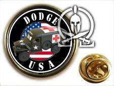 ..: Pin's :.. DODGE AMBULANCE WC 54 - WW2 GMC jeep M201 militaria SECOURS MEDIC