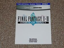 Final Fantasy I & II: Dawn of Souls GBA Nintendo Power Strategy Guide