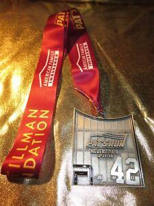 Pat Tillman 2018 Pat's Run race Arizona cardinals ASU Sun Devils Finisher Medal