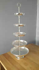 Large Silver Plated Cake / Confectionary Stands