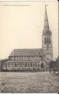 LOVELY POSTCARD - ST. CHAD'S CHURCH - FAR HEADINGLEY - LEEDS - YORKSHIRE C.1910