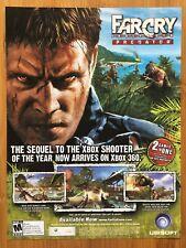 Far Cry Instincts: Predator Xbox 360 2006 Vintage Poster Ad Art Print Promo Rare
