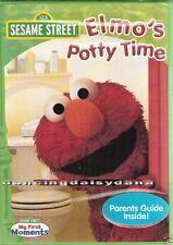 Sésamo Elmo's Potty Training- Grover Preescolar Niños 2-4 Película ~ Nuevo DVD