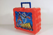 Spiderman - High Relief - Vintage plastic Lunchbox
