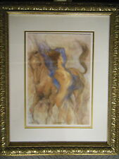Gary Benfield 'SPRING TIME II'  Signed Numbered LIMITED EDITION NUDE & EQUINE
