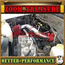 RED CHF 2003-2008/03-08 DODGE RAM 1500/2500/3500 5.7L V8 HEMI AIR INTAKE S Type