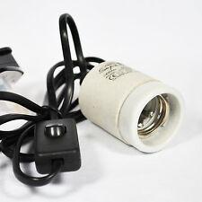 Ceramic Socket Bulb Lamp Holder ES27 Screw Type 1.8m long 200w Max