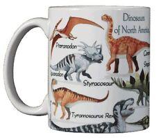 Dinosaurs of North America 11 Oz. Ceramic Coffee Mug or Tea Cup