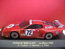 IXO #FER016 FERRARI BB512 #72 Le Mans 1982 Ferrari Edition
