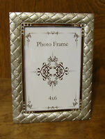 "Welforth Frame #1834 MATTED SILVER FINISH, 4""x 6"" Pic, NEW from our Retail Store"