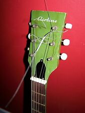 60'S  KAY  AIRLINE GUITAR TRUSS ROD COVER HARMONY SILVERTONE SUPRO