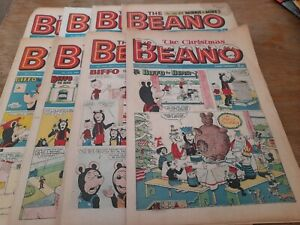 8 BEANO COMICS 1973, INC XMAS EDITION