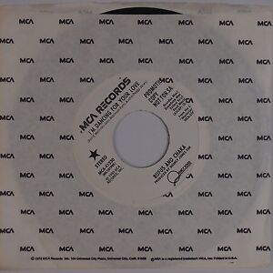 RUFUS AND CHAKA: I'm Dancing For Your Love MCA Disco Funk Breaks 45 NM