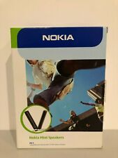 Rare New NOKIA MD-4 Mini Speakers 3.5 mm Set Fully Boxed !!!
