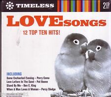Timeless Love Songs 2CD Digipak Classic Great PERRY COMO PERCY SLEDGE SAM DAVE