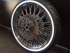 21 x 3.5 80 Spoke Front Wheel 120/70 WWW Tire Package 2000-2007 Harley FLH/FLT