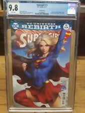 Supergirl 12 CGC 9.8 Artgerm DC Comics 2017
