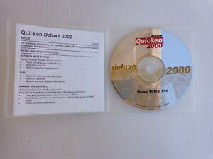 Intuit Quicken 2000 Deluxe For Windows