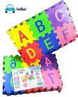 FunBlast 36 Pieces Mini Puzzle Foam Mat for Kids Alphabet and Number Mat