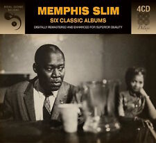 Memphis Slim SIX (6) CLASSIC ALBUMS Real Boogie Woogie REAL HONKY TONK New 4 CD