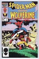 Spider-Man vs. Wolverine - #1 One Shot Marvel Comics 1987