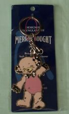 Merrythought Cheeky Bear Novelty Key Ring Chain. England c2009 never used