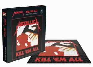 Rock Saws METALLICA - KILL 'EM ALL Album Cover 500 piece Jigsaw Puzzle Licensed