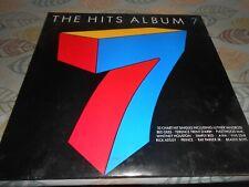 Various – The Hits Album 7 2× Vinyl LP Compilation 33rpm 1987 WEA - HITS 7