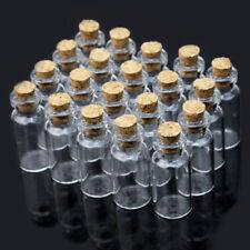 20X 2ml Leere Glasflaschen Schnapsflaschen Likörflaschen Mini Glasfläschchen