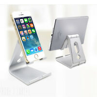 Universal Folding ABS Tablet Mount Holder Stand For iPad iPhone Samsung PQ