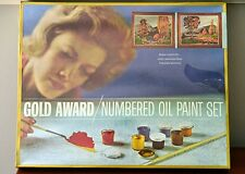 NEW VTG Gold Award Paint By Number Oil Painting Kit 'Turn of the Season'