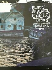 BLACK SABBATH Early Rituals Live 1969 CD Ltd. Rare out of print demos ozzy dio