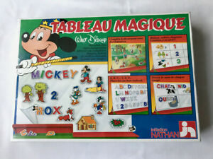 Rare Vintage 1982 Walt Disney Magical Board Game in French By initiation NATHAN