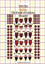 The Ordine di Calatrava. Ufficiale Fireforge Decalcomanie con Battle Damage