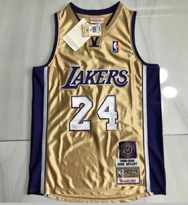24# Kobe Bryant Los Angeles Lakers Hall of Fame Memorial Edition Jersey Gold